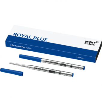 Montblanc Kugelschreibermine Royal Blue medium