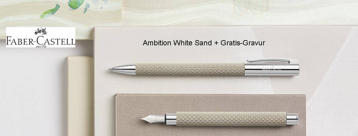 Faber-Castell Ambition White Sand